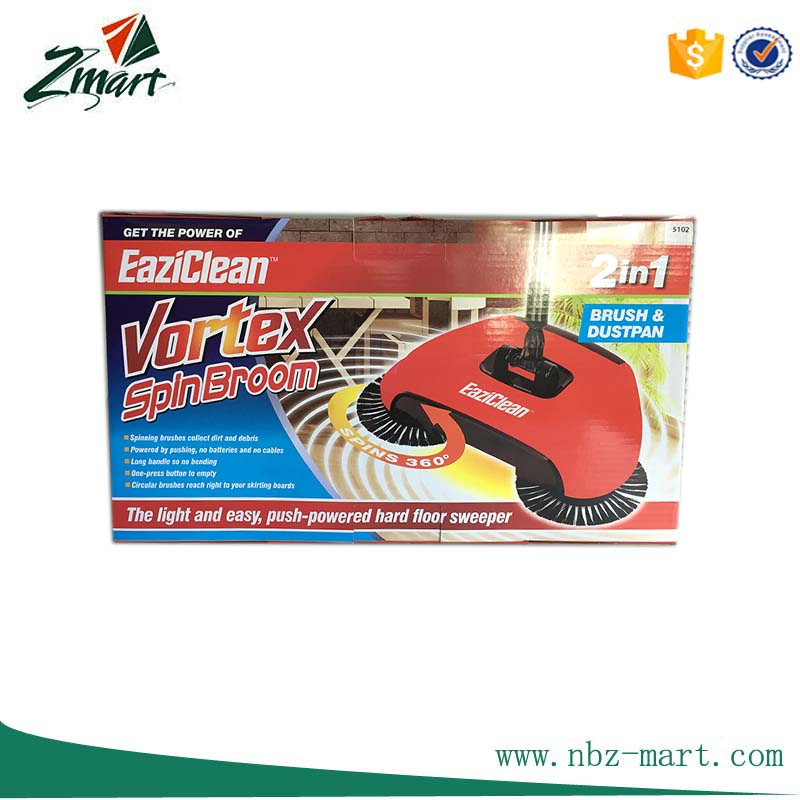 Spin broom With Light-ZM-CL182