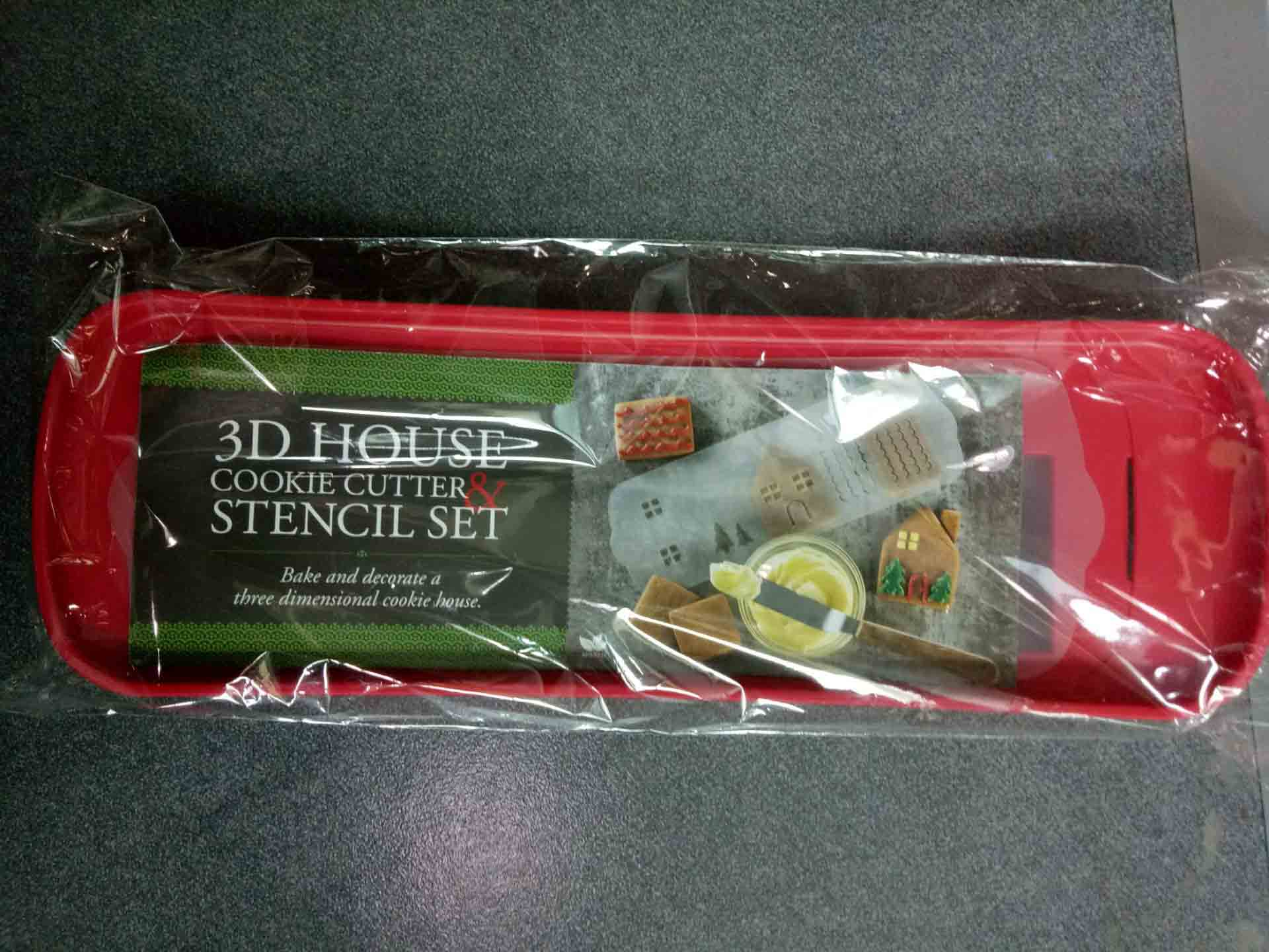 3D HOUSE COOKIE CUTTER-ZM-KW2287