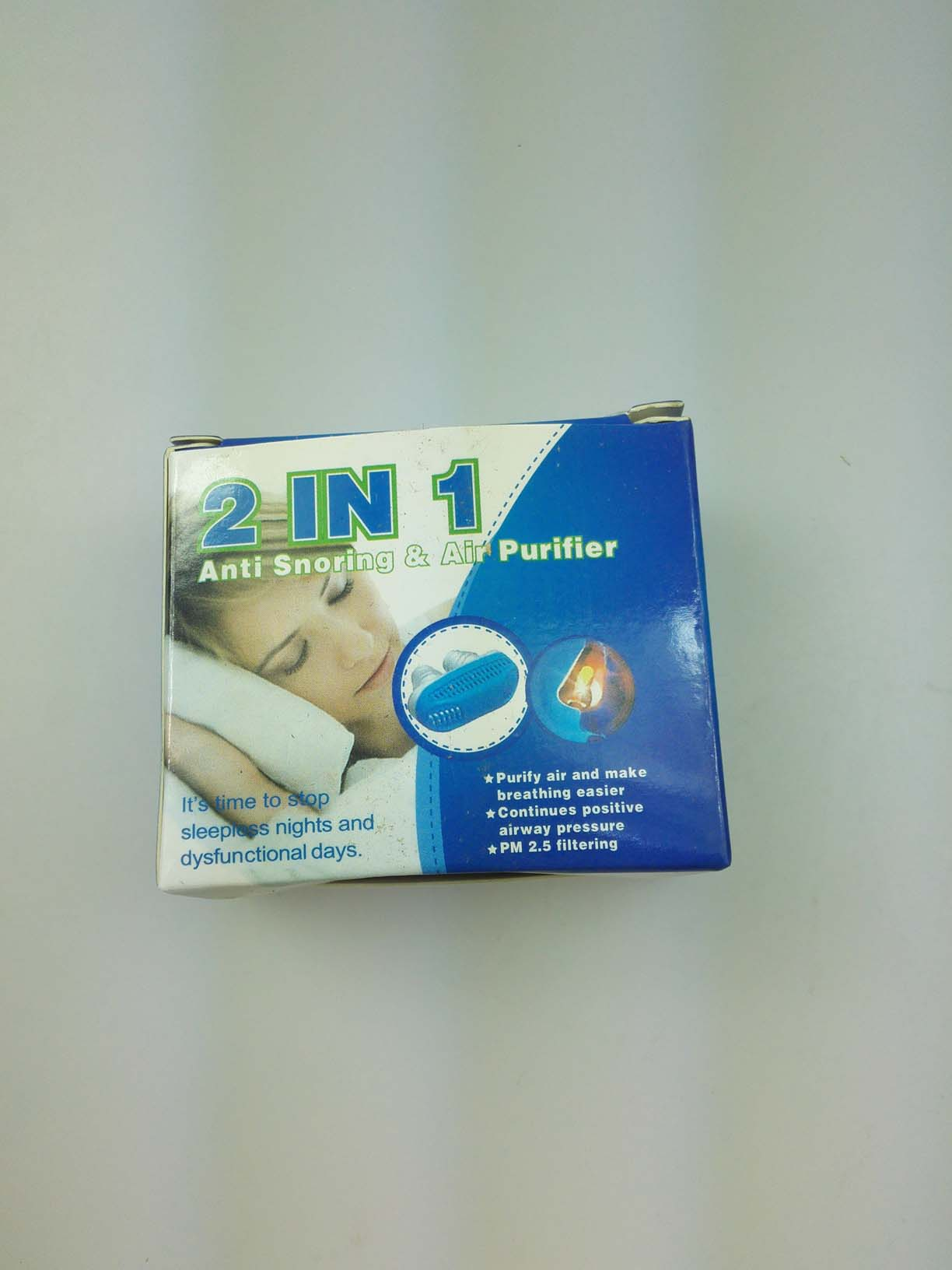 2 In 1 Anti Snoring Air Purifier-ZM-PH563